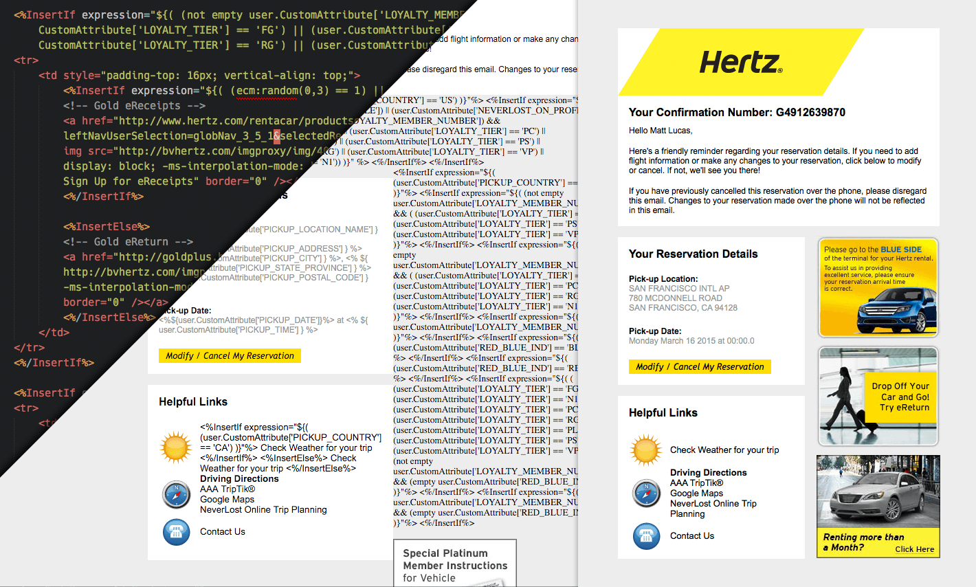 hertz poc dmc sample hertz bon voyage poc matt lucas senior email developer  at reclaimingppi.co